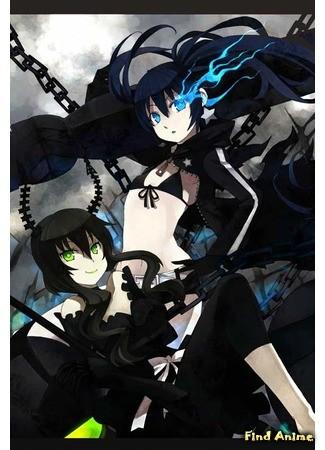 аниме Стрелок с Чёрной★Скалы [OVA] (Black Rock Shooter OVA: Black Rock Shooter) 05.04.14