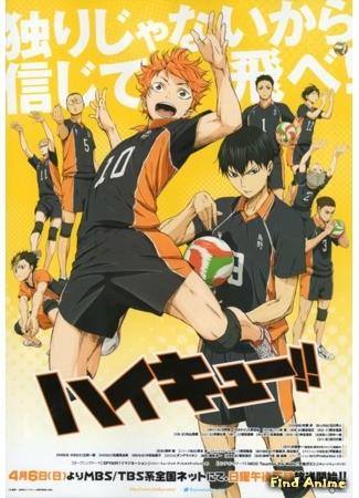 аниме Волейбол! 06.04.14