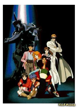аниме Мегазона 23 OVA-3 (Megazone 23 Part III) 27.04.15