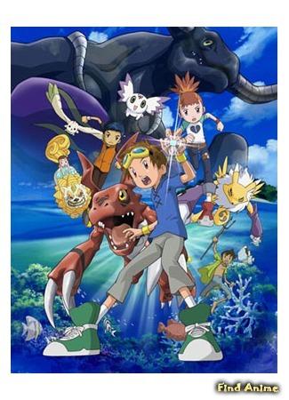 аниме Укротители Дигимонов: Битва на каникулах (Digimon Tamers The Adventurers' Battle: Digimon Tamers: Boukensha-tachi no Tatakai) 09.05.15