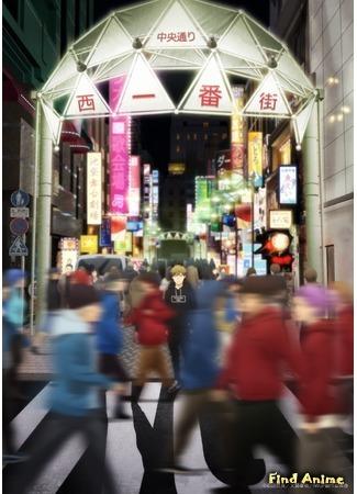 аниме Парк у западного входа на станцию Икэбукуро (Ikebukuro West Gate Park) 26.03.20