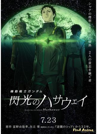 аниме Мобильный воин Гандам: Вспышка Хэтэуэй (Mobile Suit Gundam: Hathaway's Flash: Kidou Senshi Gundam: Senkou no Hathaway) 27.03.20
