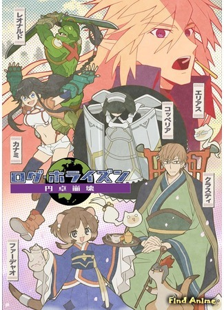 аниме Покорение горизонта 3 (Log Horizon 3rd Season: Log Horizon: Entaku Houkai) 09.11.20
