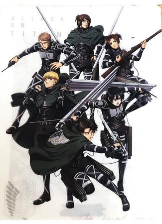 аниме Атака титанов: Финал (Shingeki no Kyojin The Final Season) 28.11.20