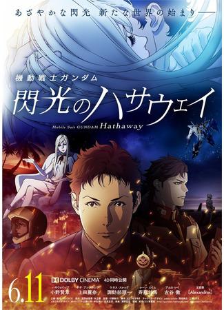 аниме Мобильный воин Гандам: Вспышка Хэтэуэй (Mobile Suit Gundam: Hathaway's Flash: Kidou Senshi Gundam: Senkou no Hathaway) 01.06.21